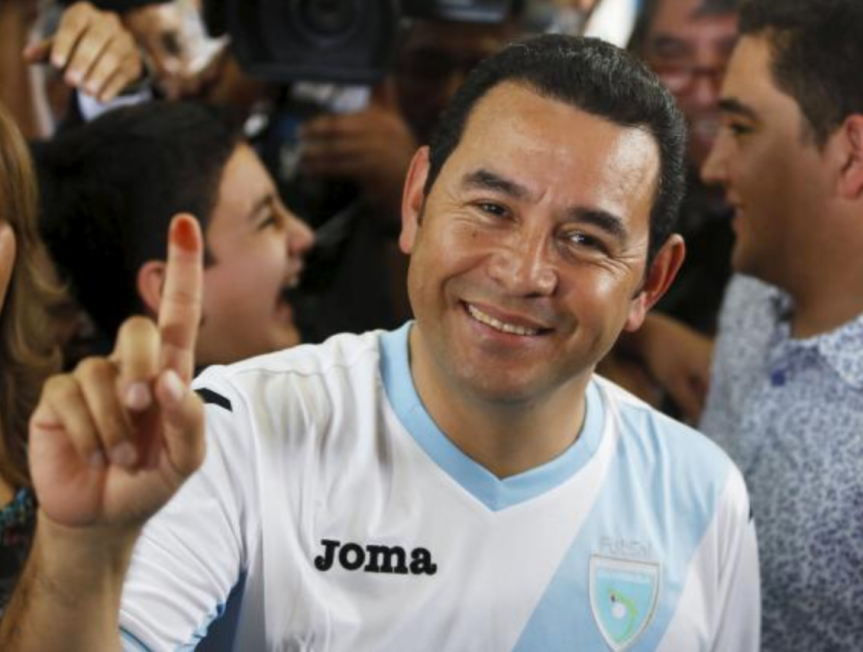 Comedian Wins Guatemalan Presidential Election