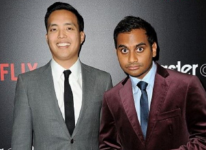 Alan Yang and Aziz Ansari, the co-creators