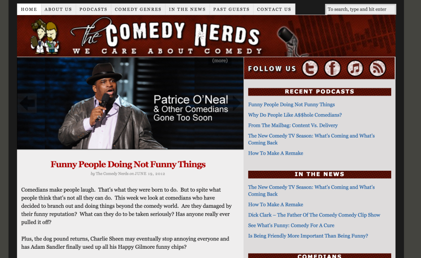 The Comedy Nerds Is A Thing ILike