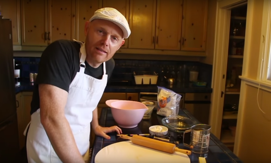 Bill Burr's Pie Crust Tutorial