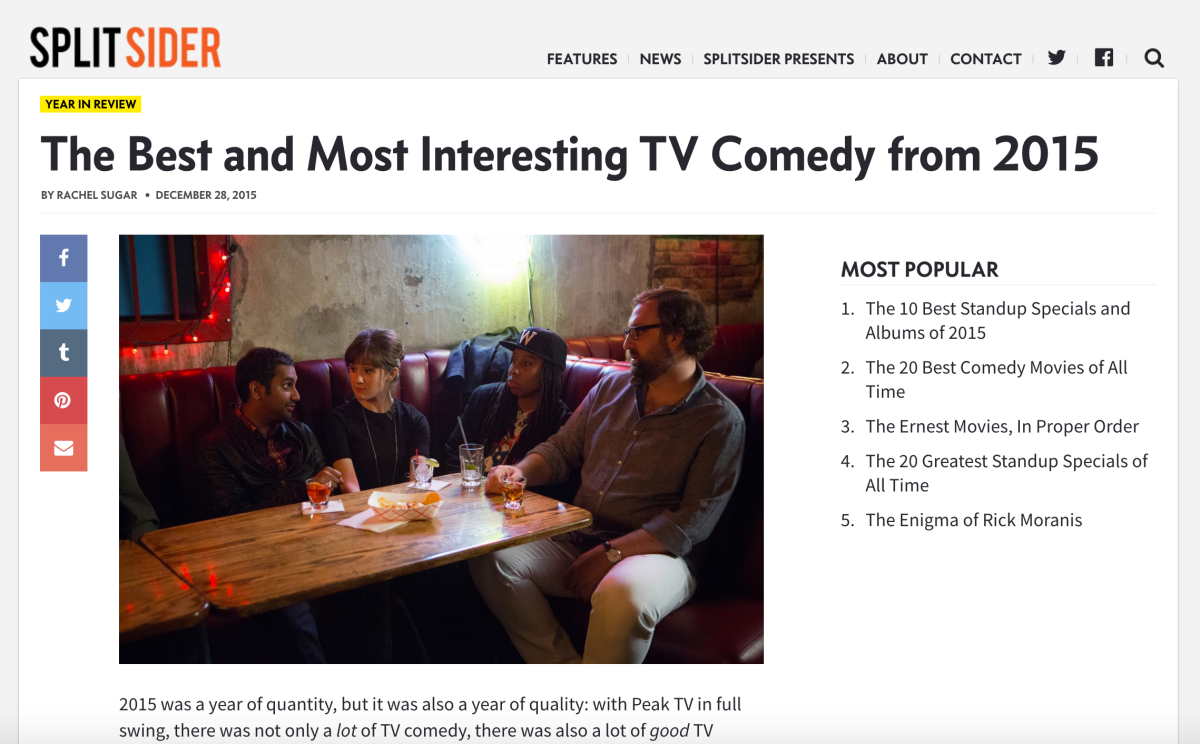 "The 10 Best ""Best Of 2015"" Comedy Lists Of 2015"