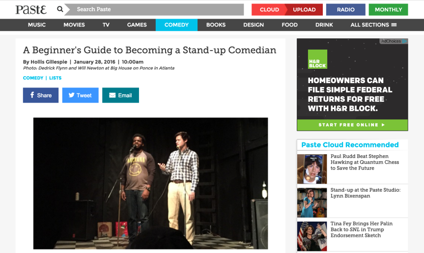 A Beginner's Guide To Stand-Up Comedy